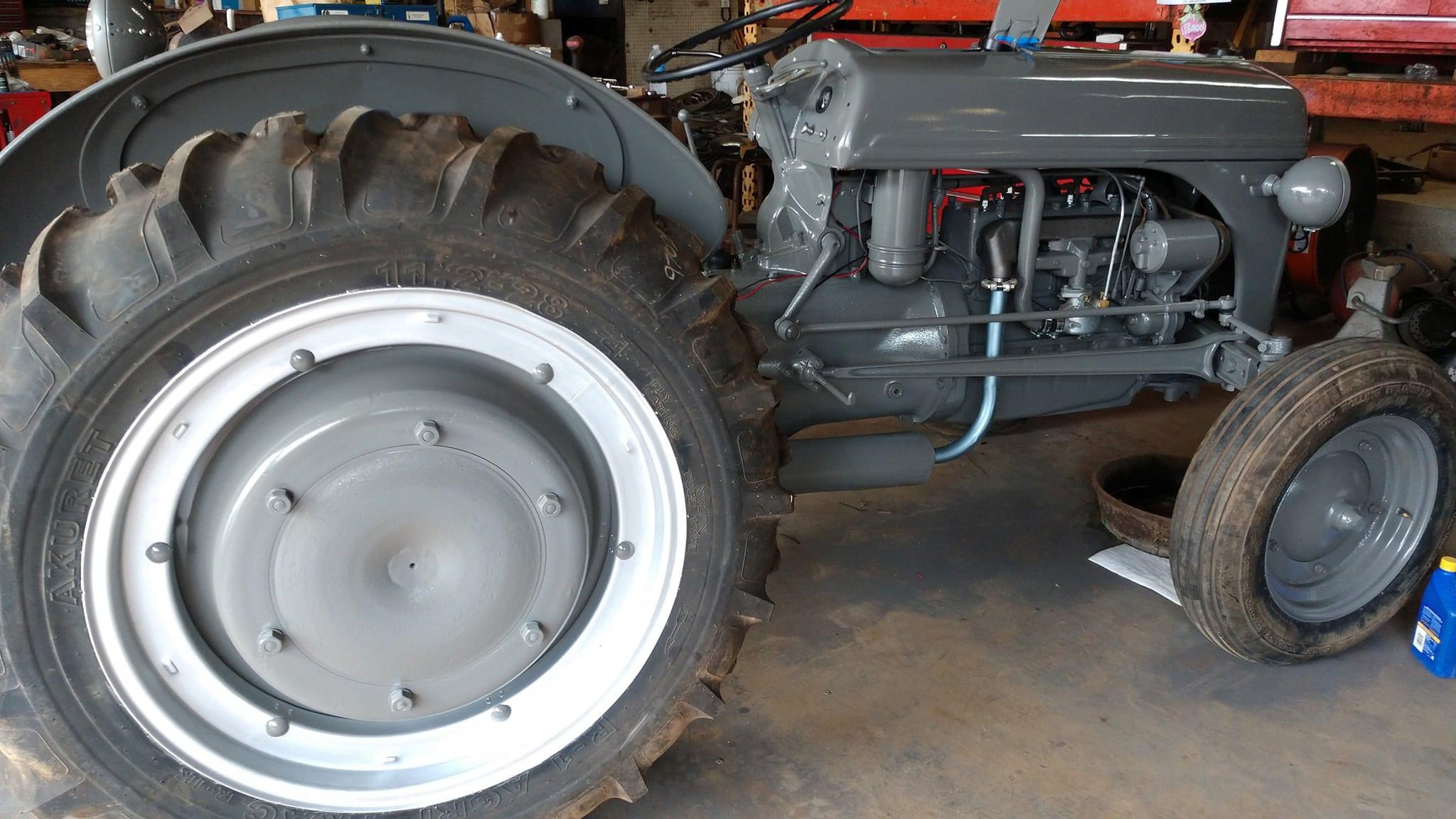 refurbish ag tractor